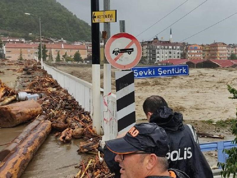 Bartın'da ve Sinop'ta Meydana Gelen Yağışlar Hakkında