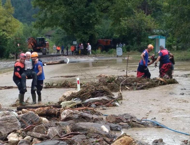 Bartın, Kastamonu ve Sinop'ta Meydana Gelen Yağışlar